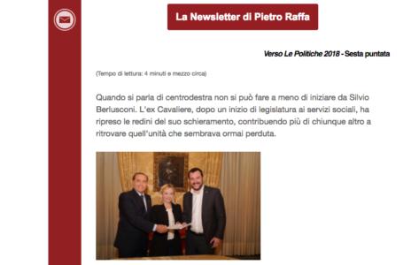 Newsletter Pietro Raffa Iscrizione